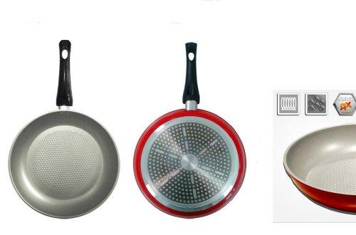 Küche Idee: BIALETTI Aeternum Energy Silver d24 Aluminium Antihaft-Pfanne für Induktion