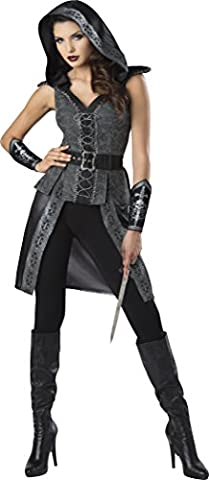 Women's Dark Woods Huntress Fancy dress costume Large