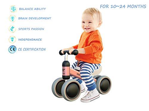 MZ Bicicleta para Bebés de 1 Año Draisinne Chica Niño...