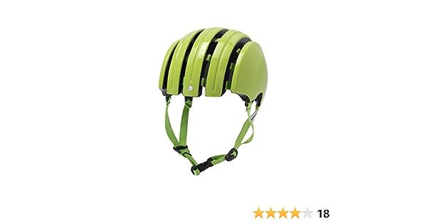 Medium//Large//58 Gloss White Carrera Helmets Basic Foldable Helmet