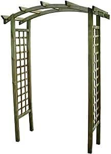 Pergola blinky in legno trattato mod arco cm 170x70x230 - Archi per giardino ...