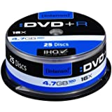 Intenso DVD + DVD-R 4,7Go 1x de 16x 25broche Cakebox anti-rayures