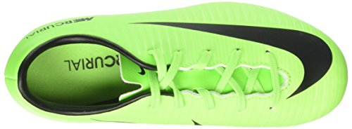 Nike Unisex-Kinder Mercurial Victory Vi Fg Fußballschuhe Grün (Electric Green/black-flash Lime-white)