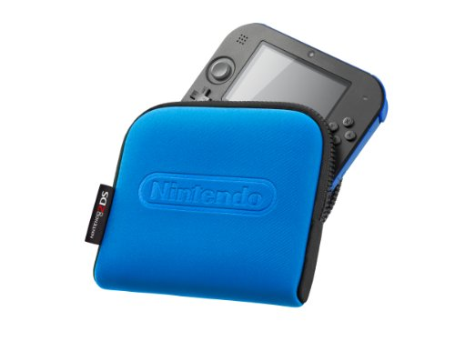 Nintendo - Funda, Color Azul (Nintendo 2DS)
