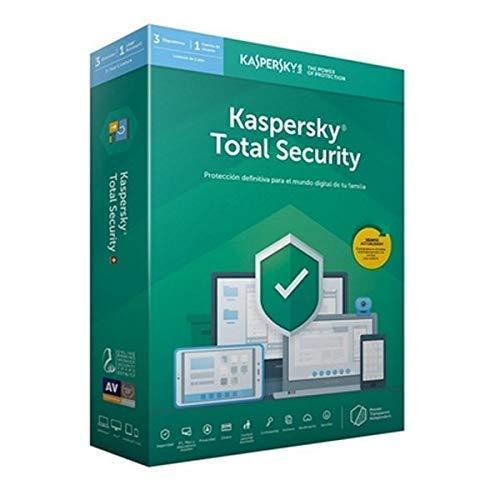 Kaspersky Lab ANTIVIRUS 2019 Total Security 3 LICENCIAS