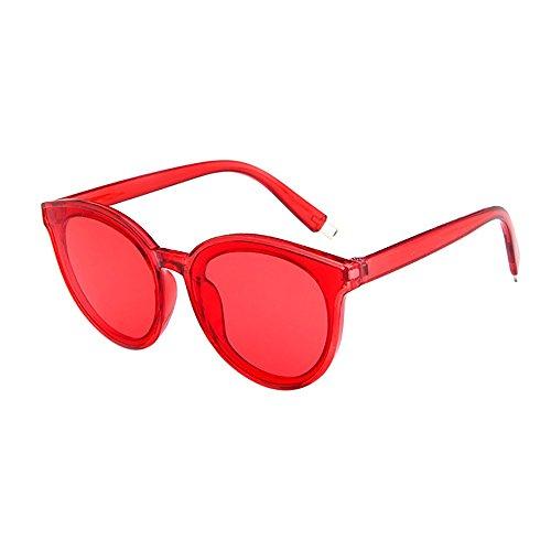 GKOKOD Herren Damen Sonnenbrille, Polarisierte Sonnenbrille Retro Groß Rahmen Vintage Rapper Sonnenbrille Brillen Sunglasses (Mehrfarbig#G)