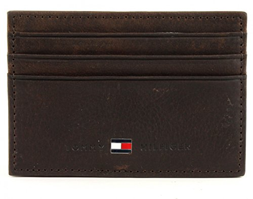 TOMMY HILFIGER Johnson CC Holder Brown