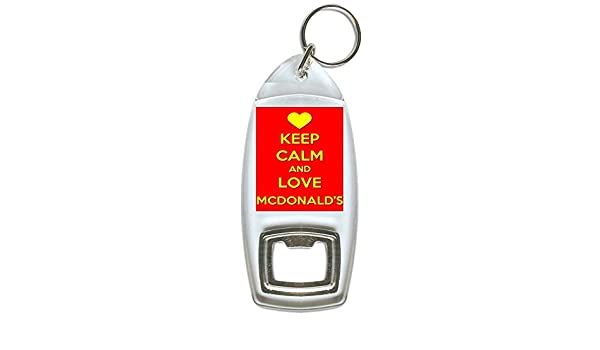 Keep Calm And Love Monkeys Bottle Opener