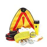 AA-SS-B-First Aid Kit Auto Interni Auto Pacchetto di Primo Soccorso Triangolo Pacchetto di Avvertimento Nastro Isolante Guanti Veicolo Pacchetto di Salvataggio Sei Serie di Forniture