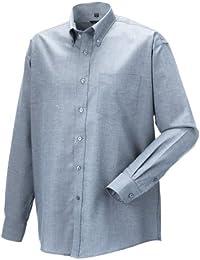 Z932 Langärmeliges Oxford-Hemd Herren Hemd Oberhemd