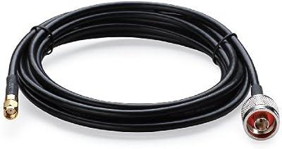 TP-Link TL-ANT24PT3 - Cable de antena (3 metros), negro