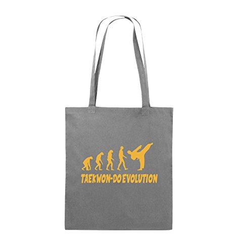 EVOLUTION Pink Gelb lange Comedy Farbe Bags Henkel TAEKWON Dunkelgrau 38x42cm Schwarz Jutebeutel DO FxUtBq