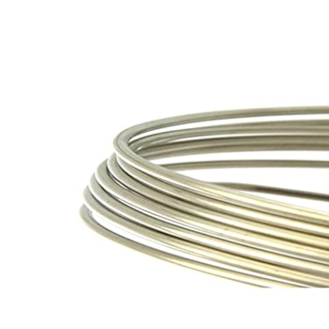 Silver Plated Copper Wire 0.5/0.8/1/1.5 mm 10 m and 25 m Ring
