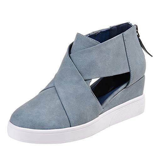 Milktea Damen schuhe Stiefel Sneaker Innen erhöhen Casual Single Schuhe Wohnung mit Reißverschluss Peeling Passenden Damenschuhe
