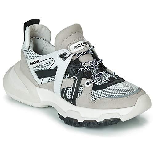 Bronx Damen Sneaker Low Seventy weiß 38
