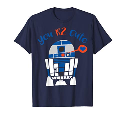 Star Wars R2-D2 Too Cute Valentine's Day Graphic T-Shirt (Star Wars Valentines Day Shirt)