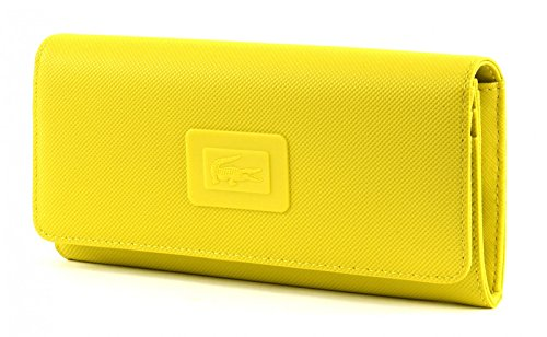 LACOSTE Women's Classic All In One Wallet Warm Olive (Lacoste Geldbörsen)