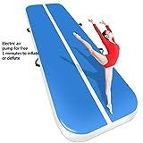 GAOXUQIANG Aufblasbare Gymnastik AirTrack Tumbling Air Track Boden 5m Trampolin Elektrische...