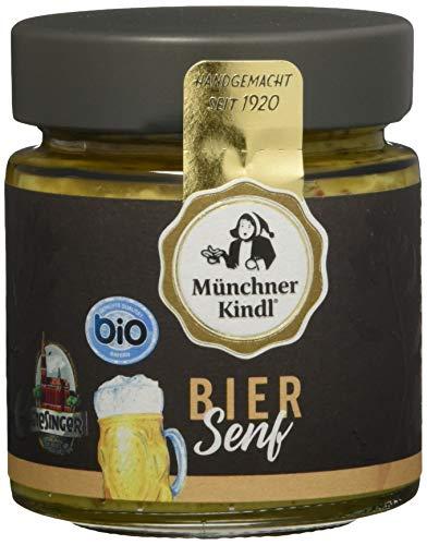 Münchner Kindl Bier Senf, 6er Pack (6 x 125 ml) Münchner Bier