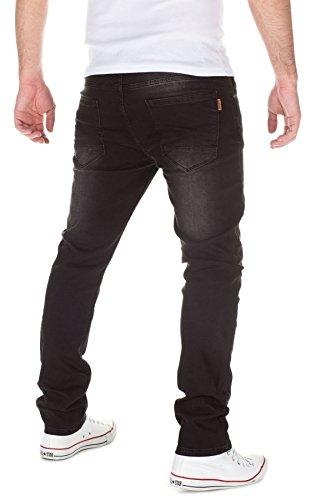 WOOSAH Herren Jeans David black (30099)