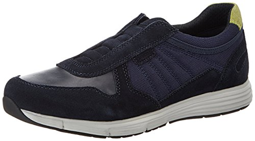 Geox  UOMO DYNAMIC C, Chaussures homme Bleu Marine