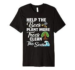 T-Shirt Umweltschutz Bienen Naturschutz Natur Öko Spruch T-Shirt