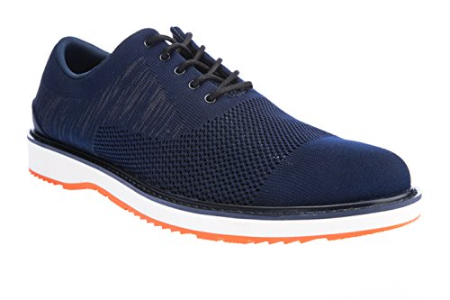 Swims Barry Oxford Knit, Chaussures à lacets homme Navy