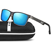 ELITERA de magnesio y aluminio polarizadas de los hombres gafas de sol para la conducción deportiva viaje E6560