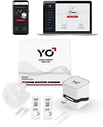 YO Home Spermentest für Samsung Galaxy S9, S9+, Note 8, inkl. 2 Tests, Spermienfruchtbarkeitstest für Männer, Prüfen von beweglichen Spermien und Videos