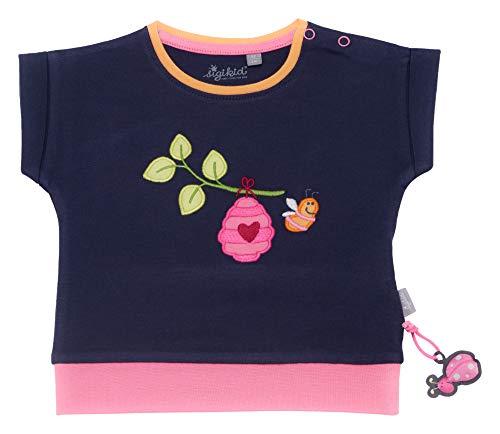 Moderne Peacoat (Sigikid Mädchen, Baby T-Shirt, Mehrfarbig (Peacoat 260), Herstellergröße:74)