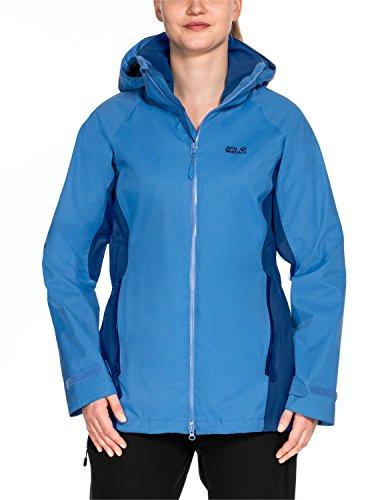 Jack Wolfskin Damen Colorado Flex Wetterschutzjacke, Wave Blue, XXL