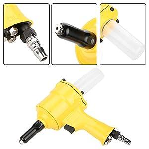 Remachadora neumática,Pistola de remachadora neumática Pistola de remache Pistola de remache neumática 2.4-4.8mm