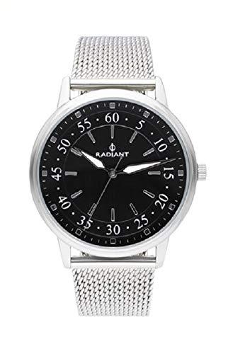 Radiant new adrien orologio Uomo Analogico al Al quarzo con cinturino in Acciaio INOX RA492601