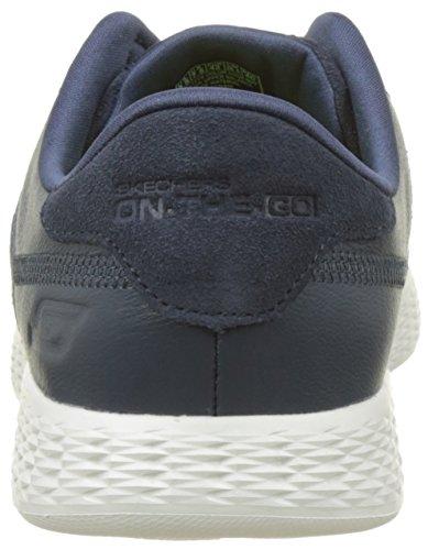 Skechers The-Go Glide-Sharp, Chaussures de Running Homme Bleu (Navy)