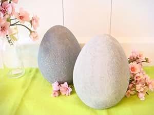 osterdeko osterei aus keramik deko ostern 2 st ck 2er set tischdeko ei. Black Bedroom Furniture Sets. Home Design Ideas