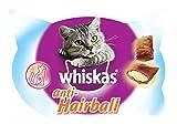 whiskas Anti-Hairball de 60g para Bolas de Pelo de Uso Diario para Gatos (Pack de 8)