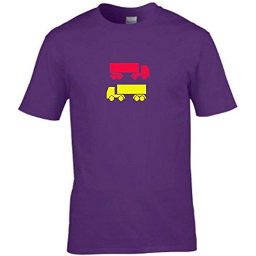 S TeesHerren T-Shirt Violett - Violett