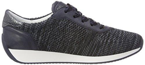 ara Damen Lissabon Sneaker Blau (Blau-Multi, 04)