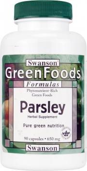 Swanson Greenfoods Parsley (650mg, 90 Capsules)