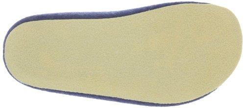 HaflingerMichel - Pantofole basse Unisex – adulto Blu (Blau (jeans 72))