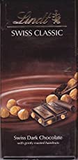 Lindt Swiss Classic Dark Chocolate, Hazel Nut - Valentines Day Combo - 100g