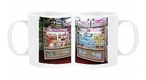 Photo Mug de la grue Rilakkuma Tête Ours en peluche Akihabara ville machine électrique à Tokyo, Japon