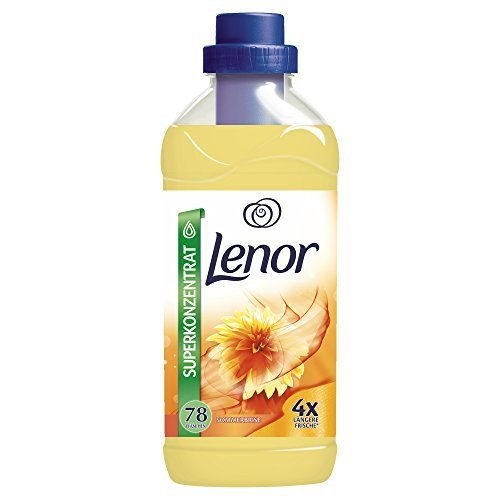 Lenor Sommerbrise Weichspüler, 1.95L, 6er Pack (6 x 78 Waschladungen)