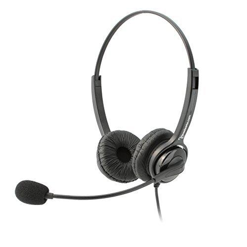 Executive Pro Overture USB-Headset, mit Geräuschunterdrückung, kabelgebunden Funktioniert mit Mac und PC