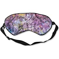 Purple Flowers 99% Eyeshade Blinders Sleeping Eye Patch Eye Mask Blindfold For Travel Insomnia Meditation preisvergleich bei billige-tabletten.eu