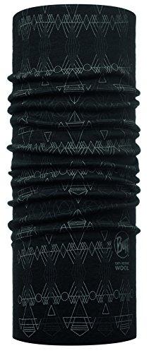 Buff Slim lana Scaldacollo multifunzione, unisex, Slim Wool, Dagger Black, Adulto