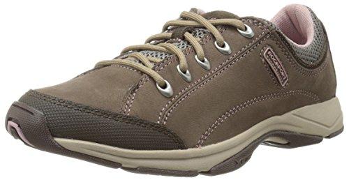 Rockport - Damen Chranson Walking-Schuhe, 40 EU, Taupe Nubuck Taupe Nubuck Schuhe
