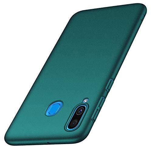anccer Cover Samsung Galaxy A40, [Alta qualità] [Ultra Slim] Anti-Scratch Hard PC Case Custodia per Samsung A40 (Ghiaia Verde)