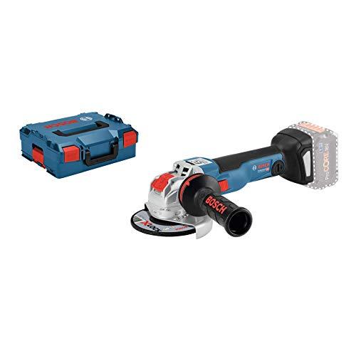 Bosch Professional 18V System X-LOCK Akku Winkelschleifer GWX 18V-10 C (X-LOCK, Leerlaufdrehzahl: 4.500 - 9.000 min-1, Scheiben-Ø: 125mm, ohne Akkus und Ladegerät, in L-BOXX)