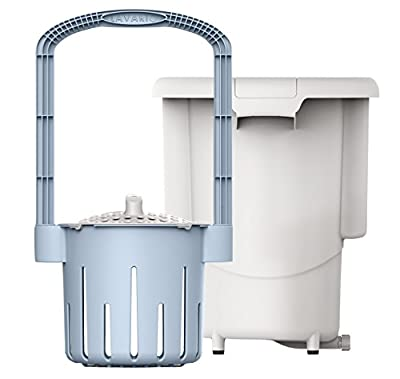 Lavario Portable Washing Machine, Hand-powered Tub and Insert Design; Eco and Bio Friendly; Perfect for RVs, Caravans, Off-Grid Camping or Hand Washing Delicates; Made in USA
